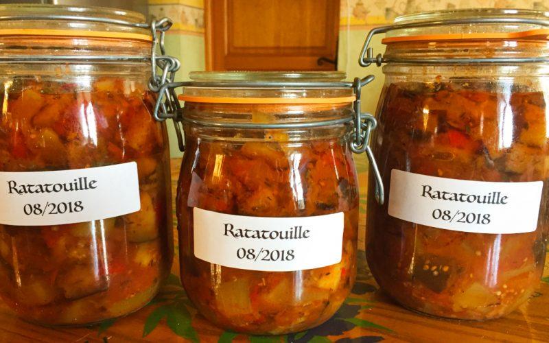 Ratatouille (conserves en bocaux)