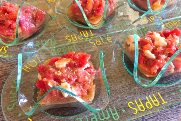 IMG 4382 620x416 - Verrines de tomates à la feta