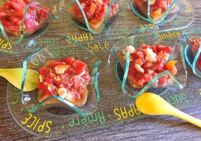 IMG 4383 400x280 - Verrines de tomates à la feta
