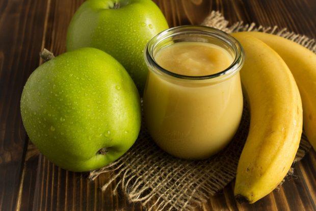 compote pomme banane 620x414 - Compote pommes miel bananes (conserves)