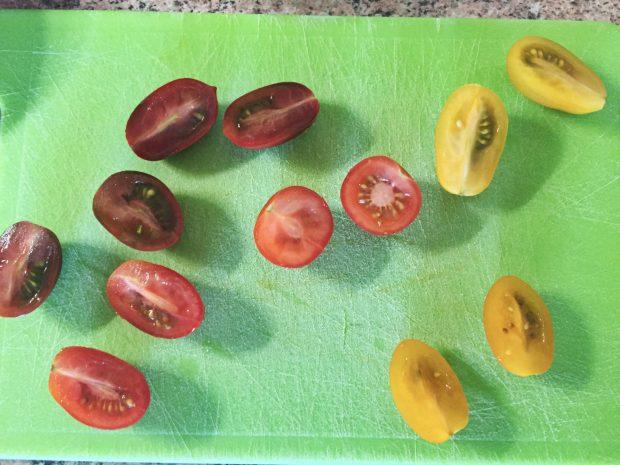 IMG 3597 620x465 - Tomates cerises farcies aux rillettes