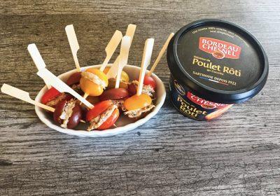 IMG 3602 400x280 - Tomates cerises farcies aux rillettes