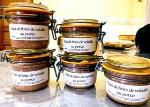 IMG 5990 300x215 - Mousse de foies de volailles au Porto