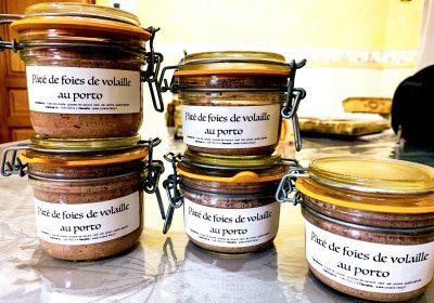 IMG 5990 400x280 - Mousse de foies de volailles au Porto