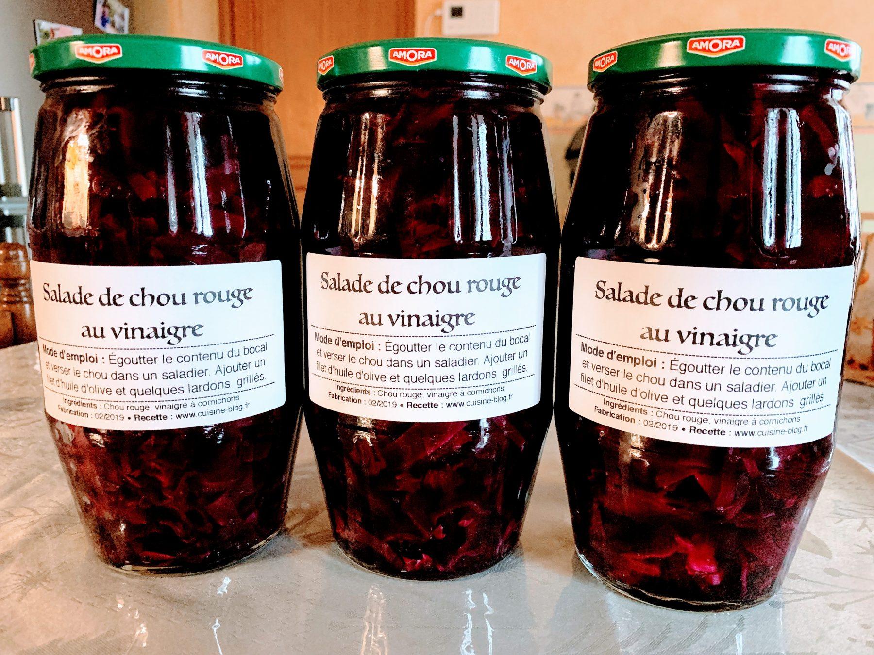 IMG 6009 - Salade de chou rouge au vinaigre