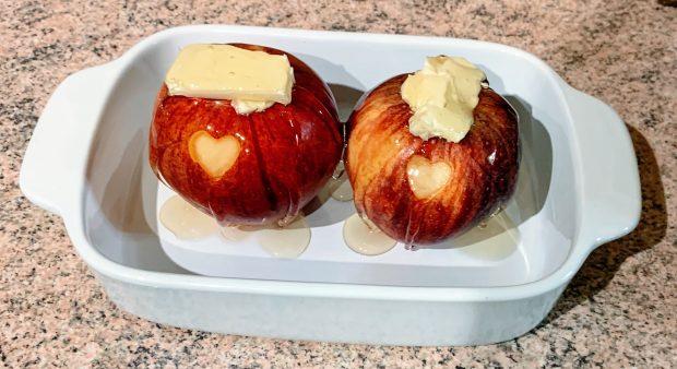 IMG 6115 620x338 - Pommes au four au miel